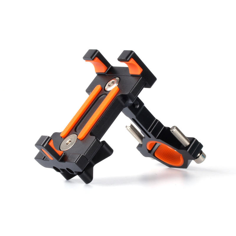 BIKIGHT BH01 AL6061-T6 Bicycle Phone Holder Bracket for Phone GPS Device Up To 6.5 Inch Non-slip Shockproof фото