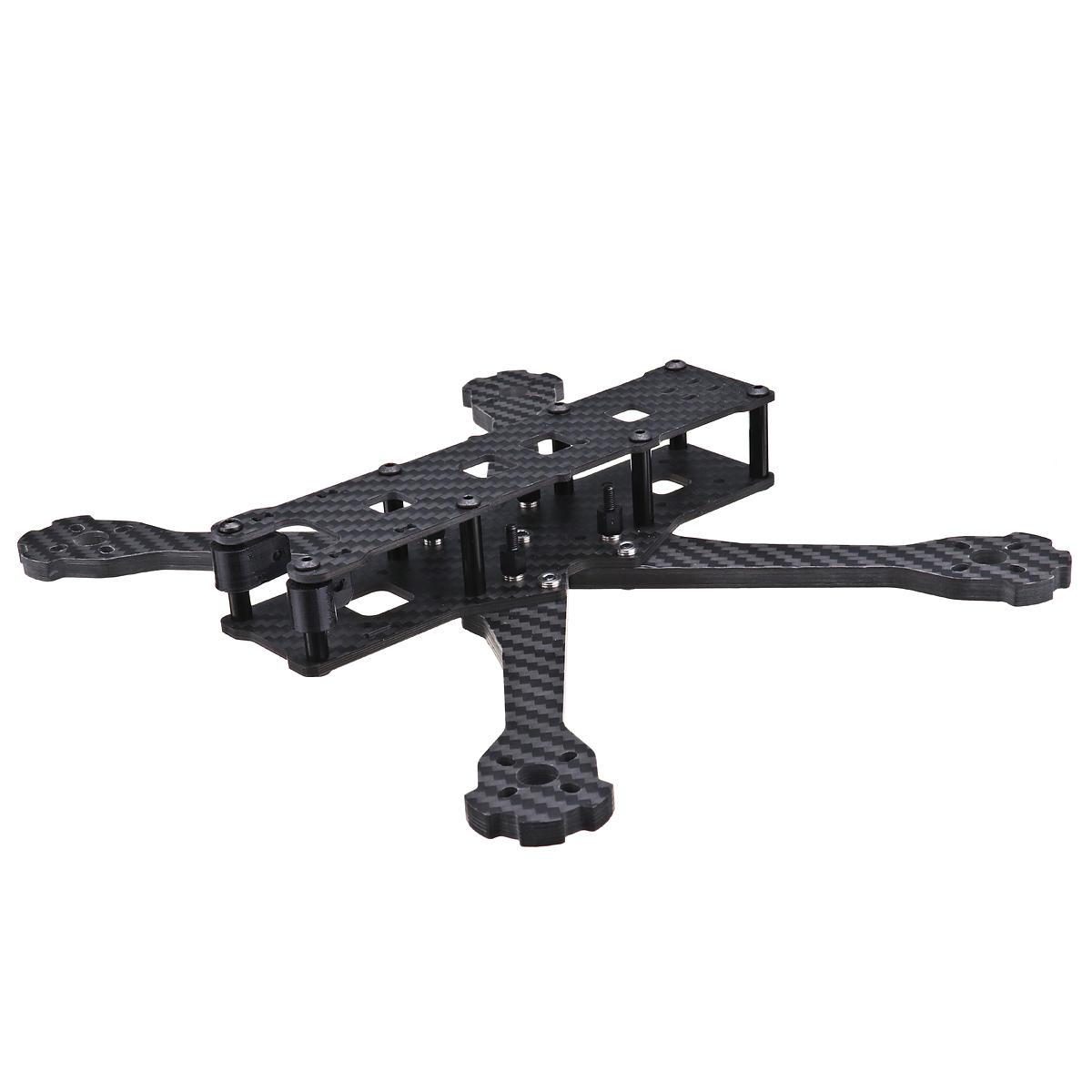 URUAV UF3 5/6/7 Inch 220/250/300mm Carbon Fiber FPV Racing Frame Kit 5.5mm Arm for RC Drone