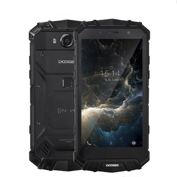 DOOGEE S60 5.2 Inch IP68 Waterproof 6GB RAM 64GB ROM MTK Helio P25 Octa Core 2.5GHz 5580mAh 4G Smartphone