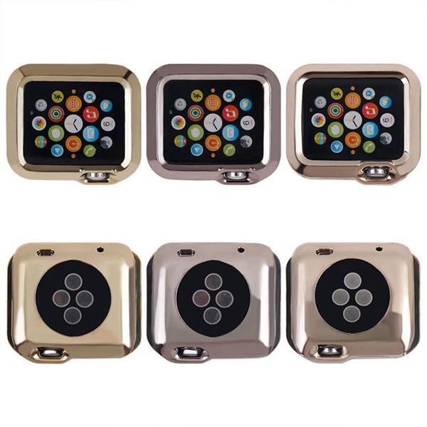 38MM Ultra Thin Mạ Mạ TPU Vỏ cứng bảo vệ cho Apple Watch