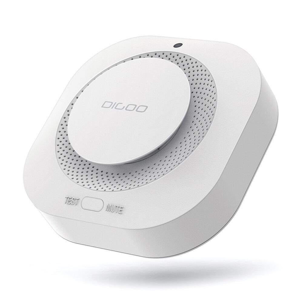 DIGOO DG-SA01 Fire Alarm Detector Independent Photoelectric Smoke Sensor Remote Alert Work with HOSA HAMA