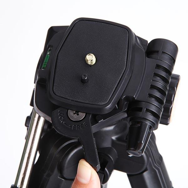 SHOOT XTGP441 Portable Tripod 3 Sections Foldable Telescopic Tripod with Ball Head for DSLR Cameras - 4
