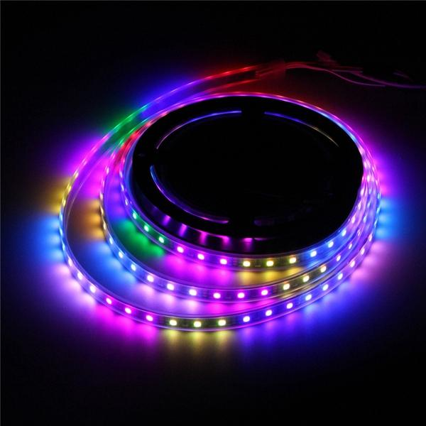5M WS2812B 5050 RGB Waterproof IP67 150 LED Strip Light Dream Color Changing Individual Addressable DC 5V - 2
