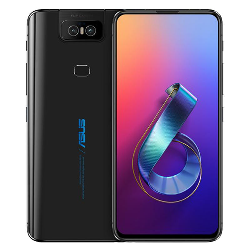 ASUS ZenFone 6 Global Version 6 4 Inch FHD+ Full Screen NFC5000mAh  48MP+13MP Flip Cameras 6GB 128GB Snapdragon 855 4G Smartphone