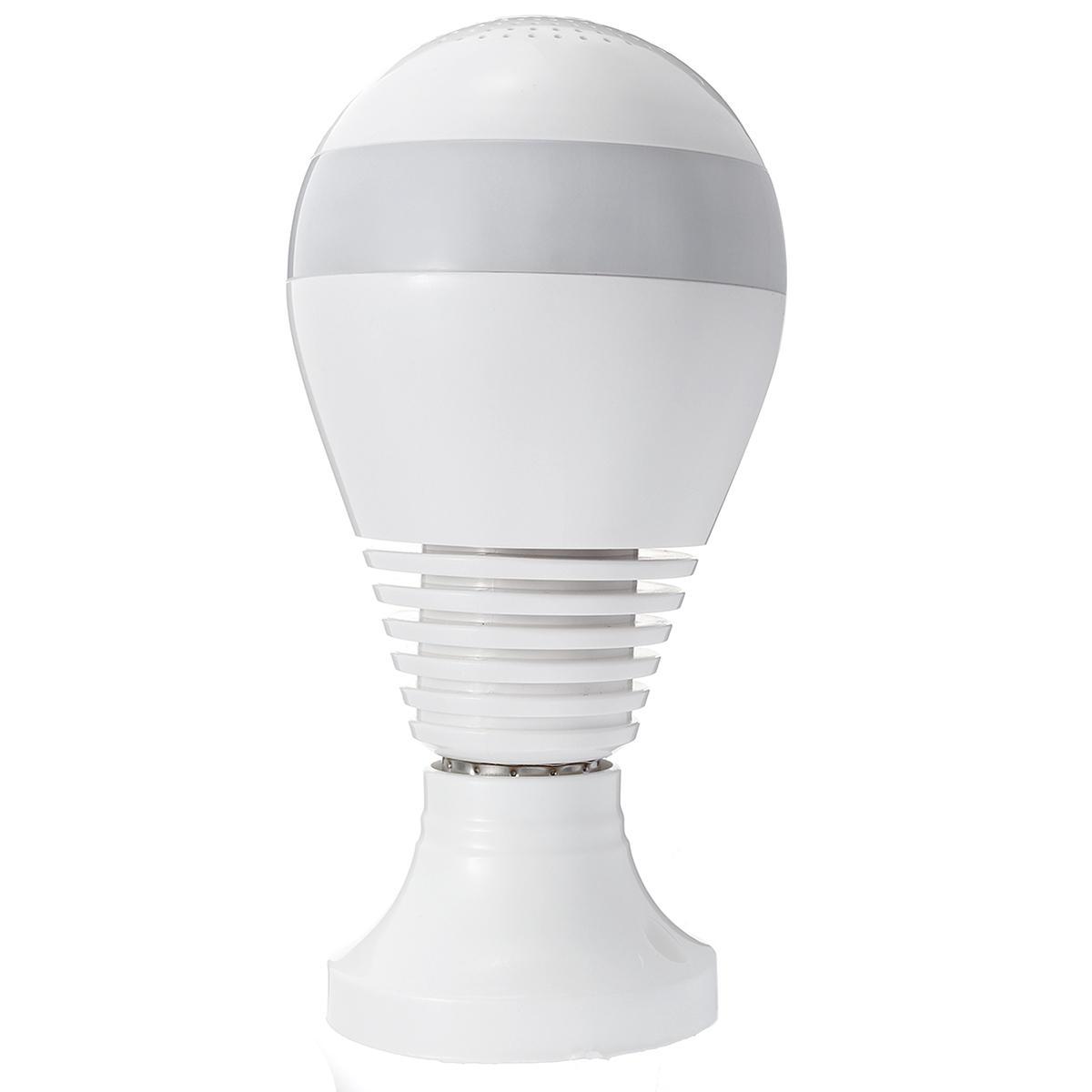 E27 360° Panorámico 1080P IR Cámara Oculta Bombilla de la Luz Ojo de Pez de Wifi CCTV Cámara de Seguridad - 9