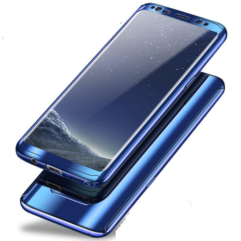 superior quality 8f671 28375 Bakeey Plating 360° Full Body PC Front+Back Cover Case+HD Film For Samsung  Galaxy Note 8/S8/S8 Plus/S7 Edge/S7