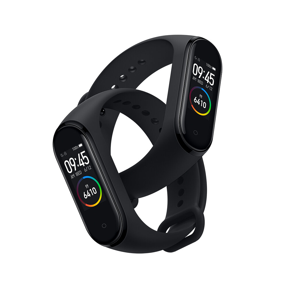 Original Xiaomi Mi band 4 AMOLED Color Screen Wristband bluetooth 5.0 5ATM Long Standby Smart Watch International Black