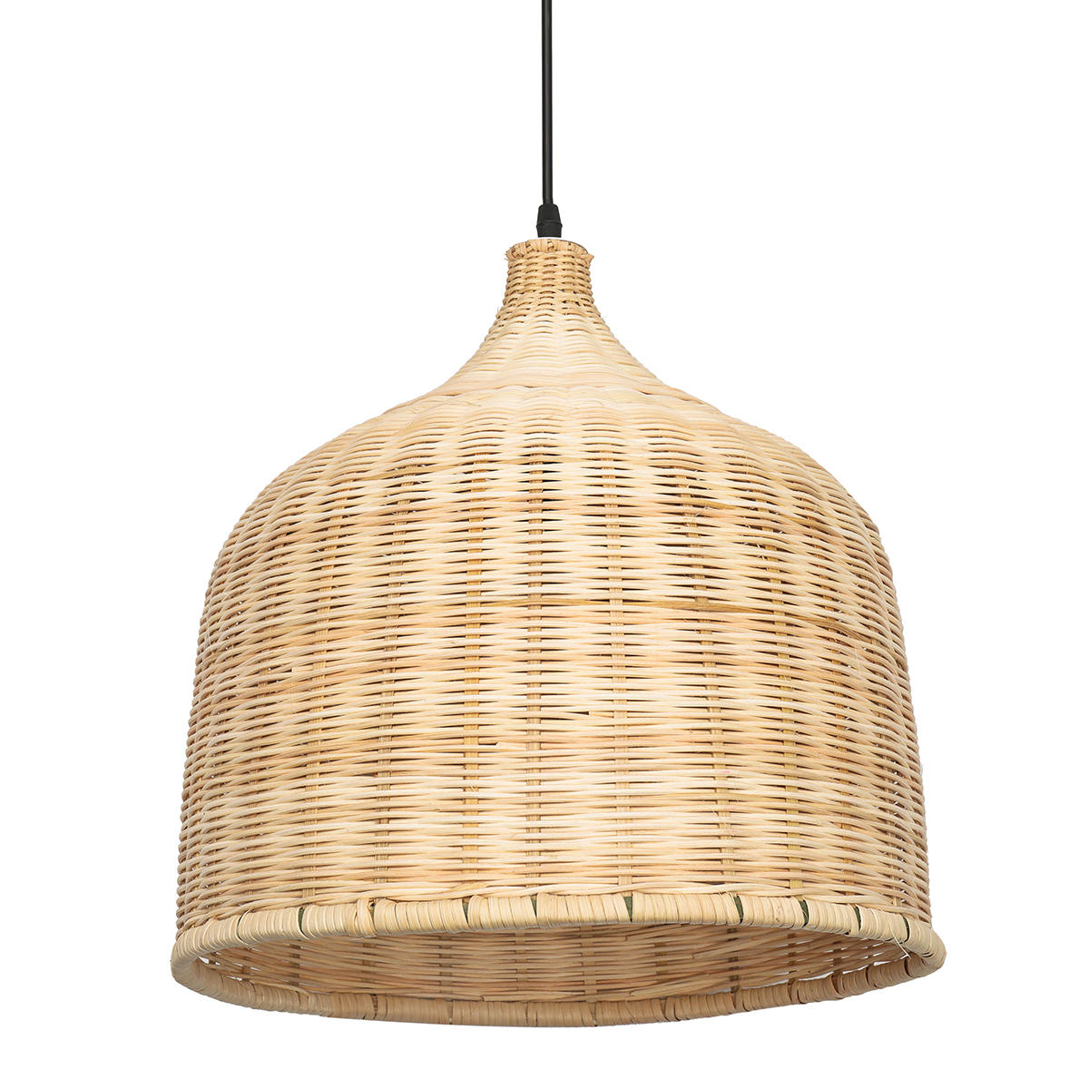 the latest 7de78 a3691 E27 Modern Rattan Chandelier Pendant Light Ceiling Lamp Cover for Home  Indoor Decoration