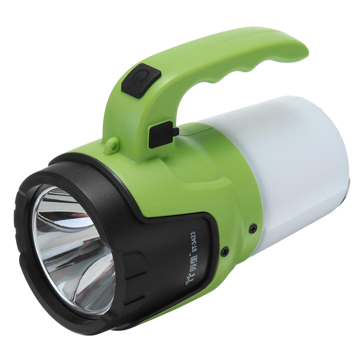 Outdoor Emergency light Strong Camping Light Flashlight USB Rechargeable Patrol Lamp