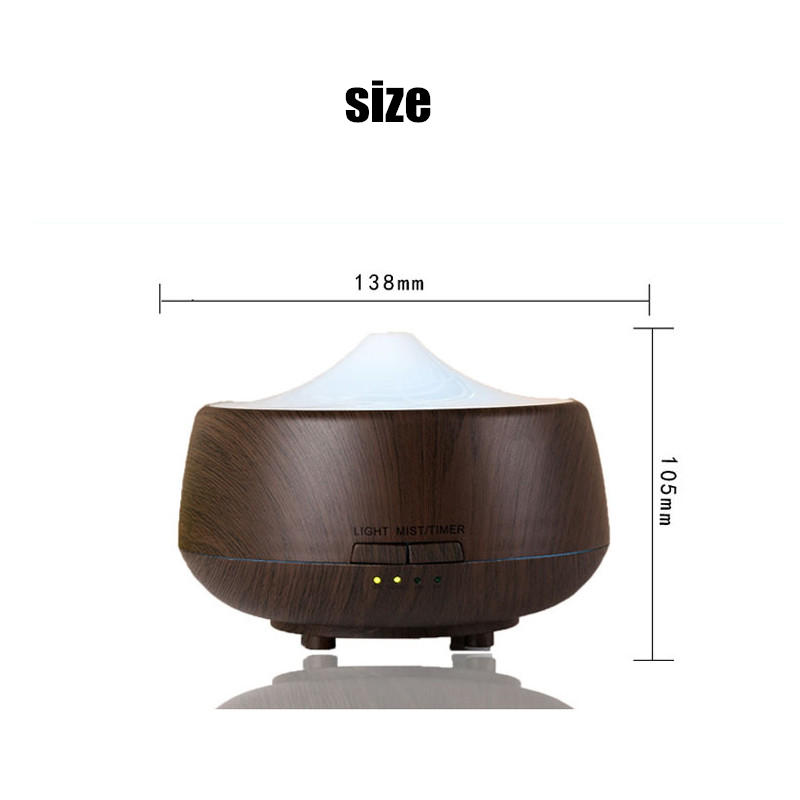 LED Aroma Diffuser Ultrasonic Humidifier Air Aromatherapy Purifier - 6