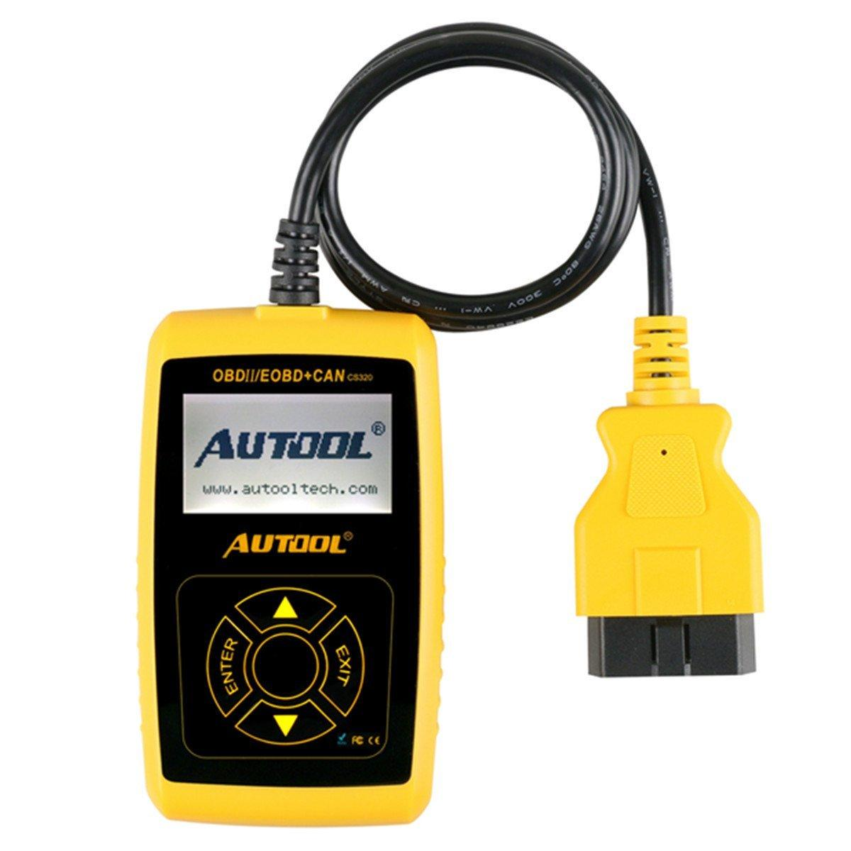 Vehicle Code Reader >> Autool Cs320 Obdii Car Vehicle Code Scanner Engine Fault Code Reader Auto Diagnostic Scan Tool