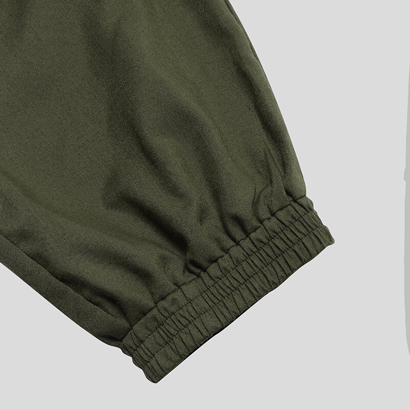 Mens Switchable Long Pants Shorts Fashion Casual Cargo Trousers - 11
