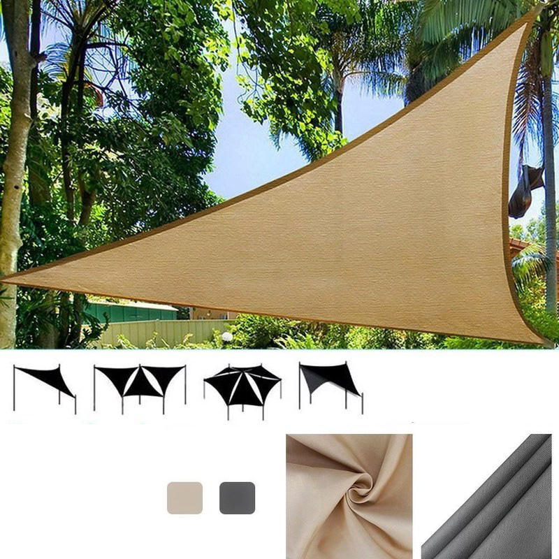 3x3m Triangle Sun Sail Shade Outdoor