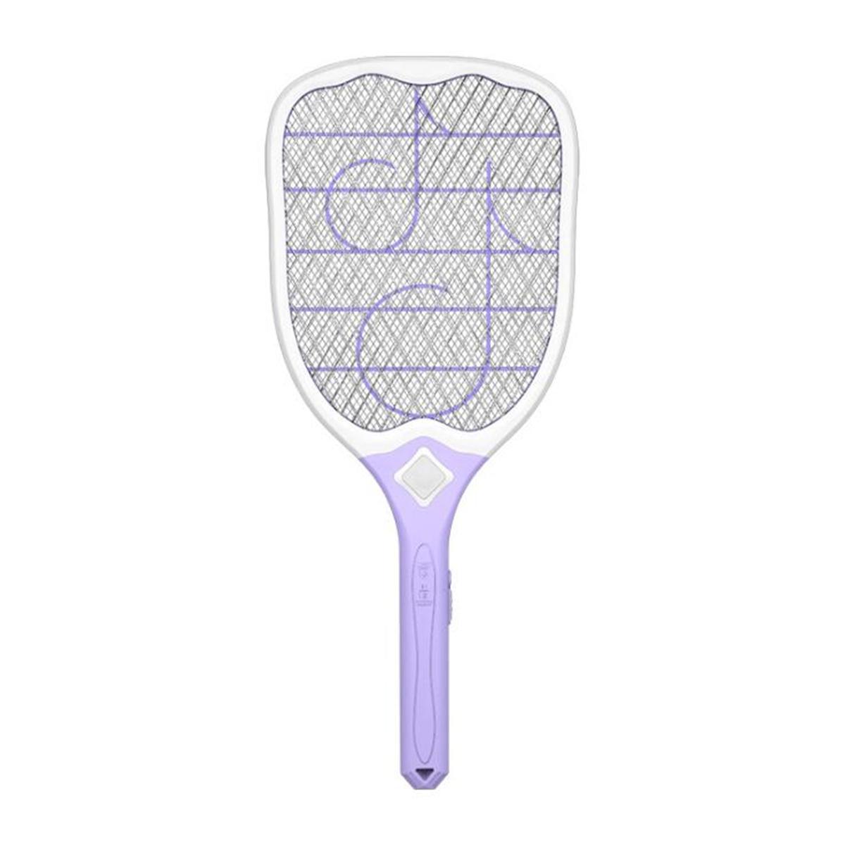 3000 В 220 В / 50 Гц USB аккумуляторная электрическая москитная летающая мухобойка LED электрический убийца мух фото