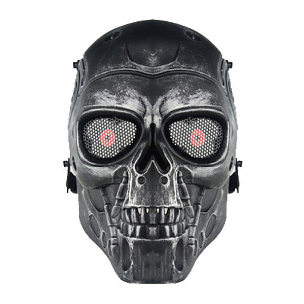 WoSporT Skull Face Mask Airsoft CS Paintball Tactical Military Halloween Costume Party