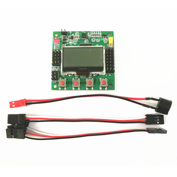 KK2.1.5 LCD Flight Control Board V1.17S1PRO 6050MPU 644PA per RC Airplane FPV Racing Drone - 1