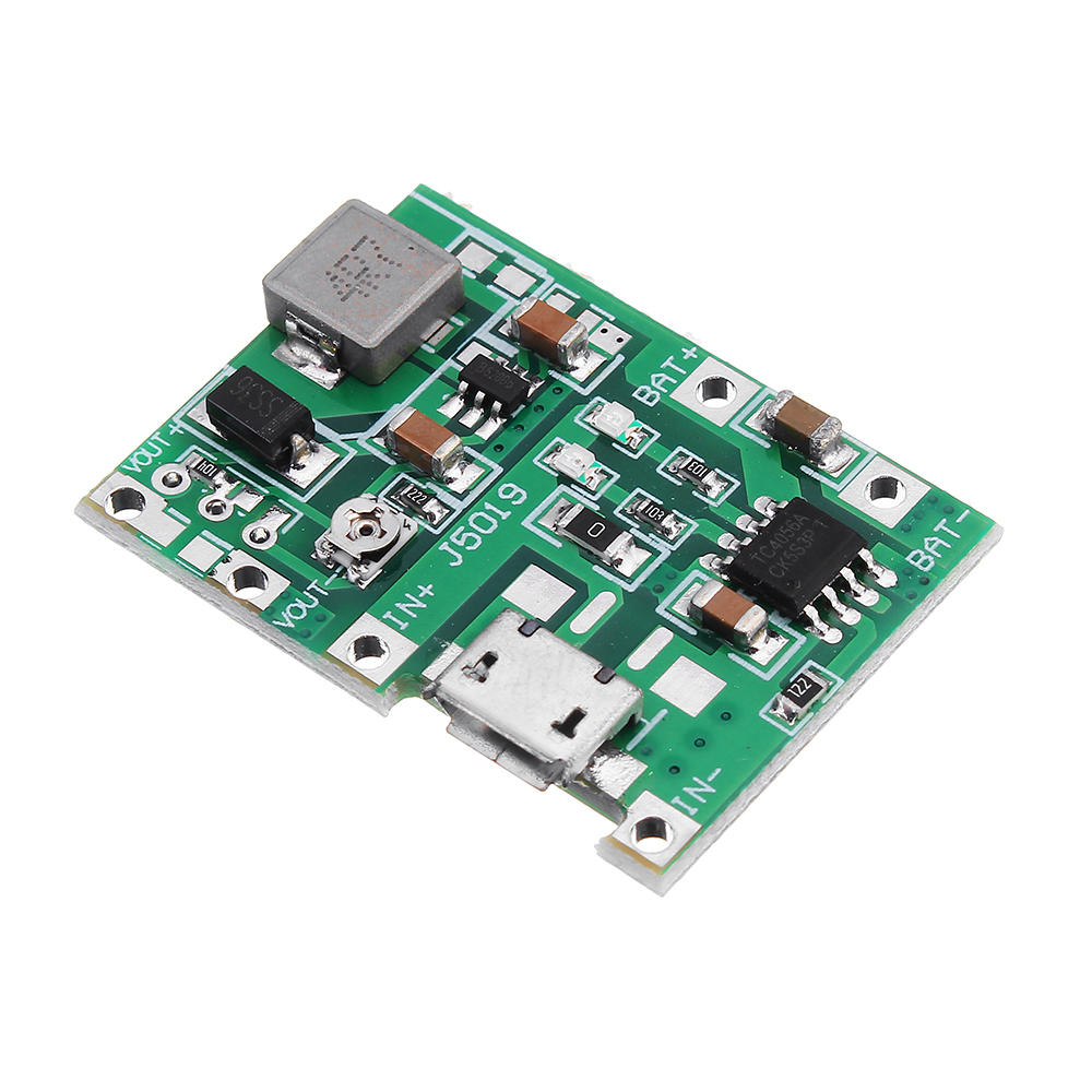 Arduino 5pcs 3.7V 9V 5V 2A Adjustable Step Up 18650 Lithium Battery Charging Discharge Integrated Module фото