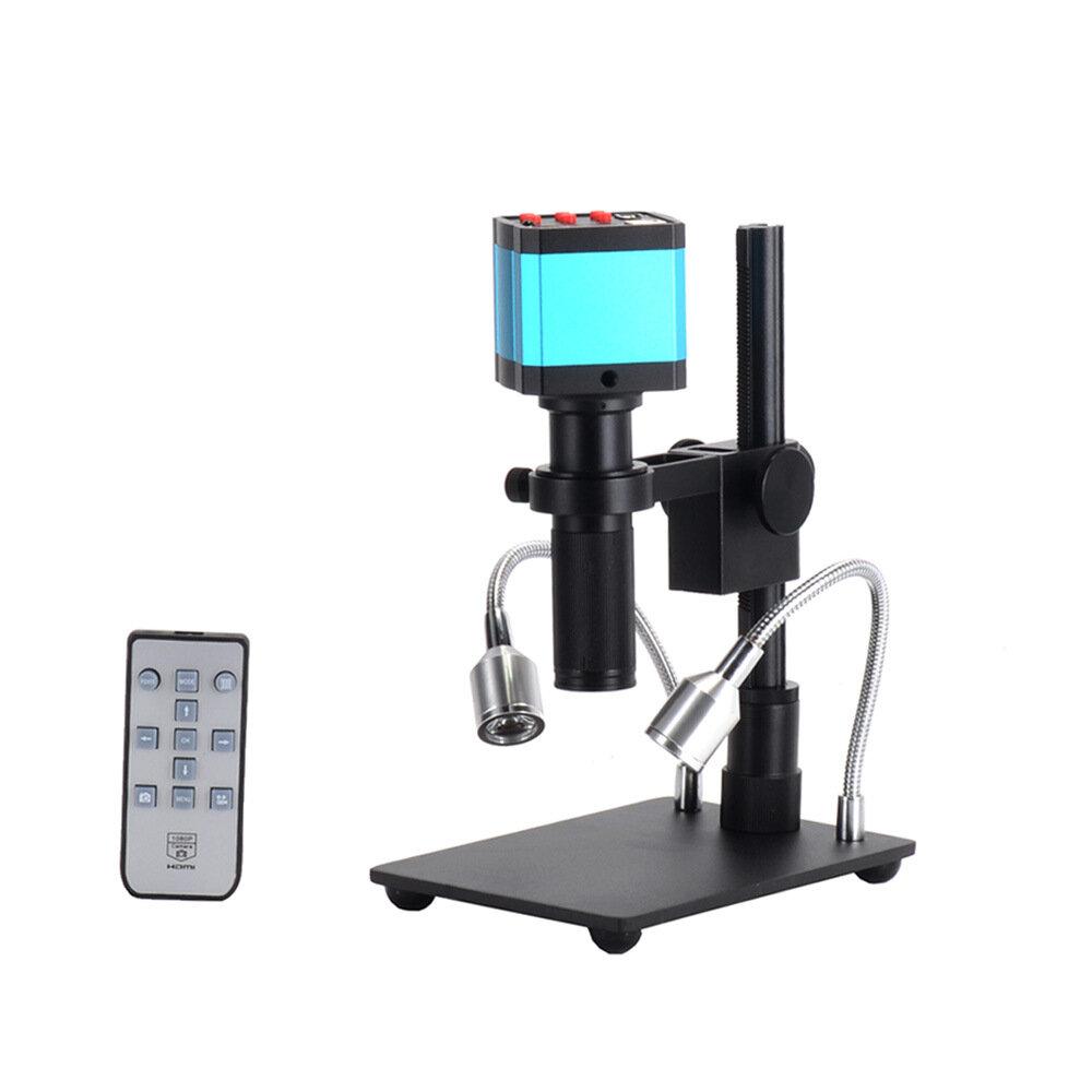 Efix 3.5-45X 13MP Trinocular Stereo Soldering Microscope Stand Lens Digital Camera for Repair Mobile Phone Tools Kits - 3