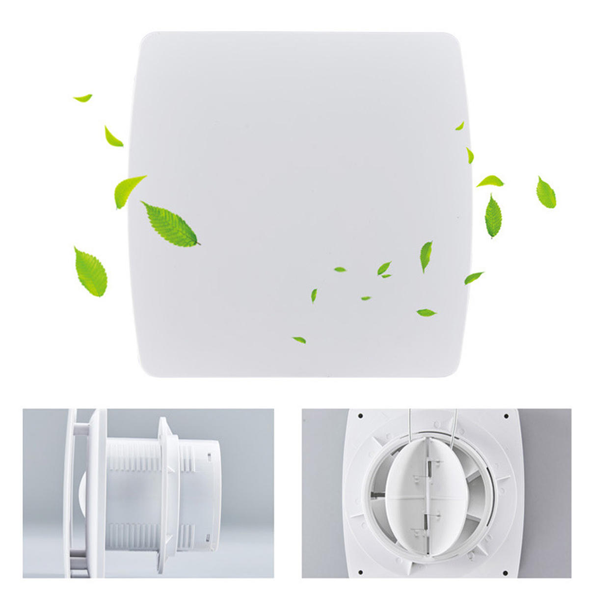 Hotel Side Wall Bathroom Bathroom 4 Inches Low Noise Ventilation Fan - 4
