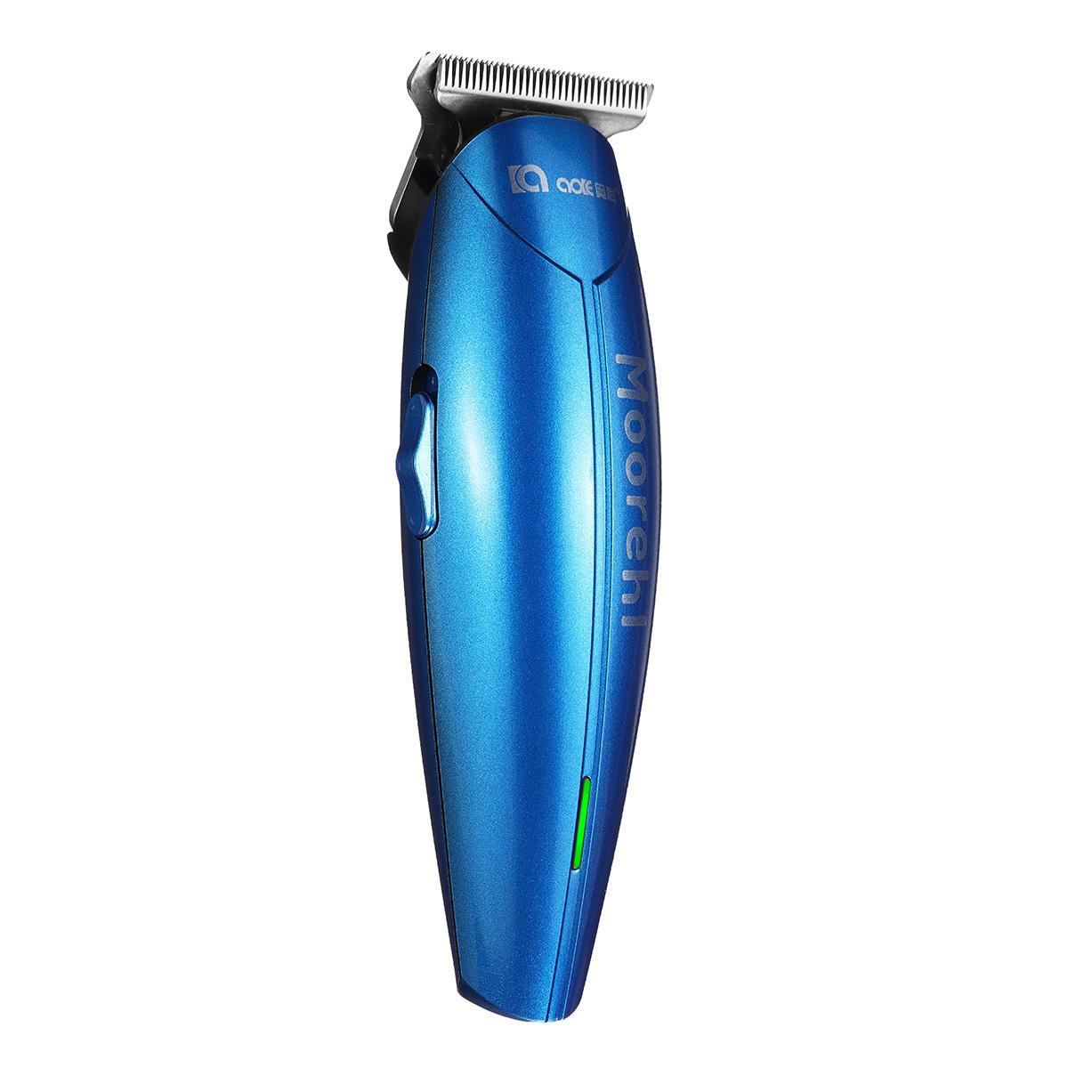 Kemei KM-5027 Cordless Rechargeable Hair Clipper LCD Hair Trimmer Hair Cutting Kits - 3