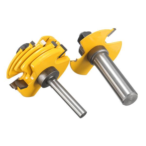 35pcs 1/4 Inch Shank Tungsten Carbide Tip Router Bit Set Wood Working Tool - 2
