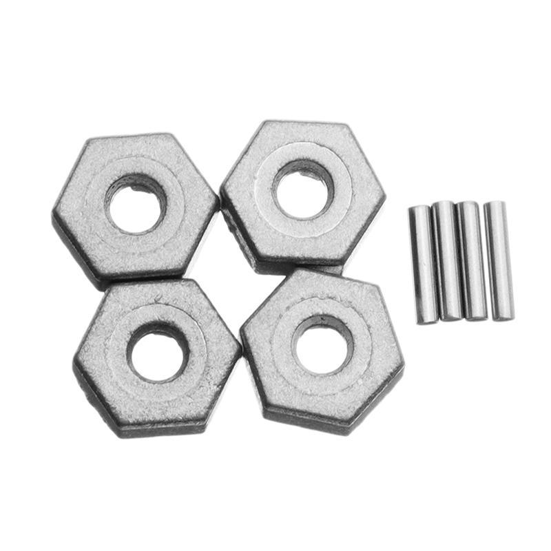 8PCS 25-ZJ09 Alloy Hexagonal Adapter For 9125 1/10 RC Car Parts