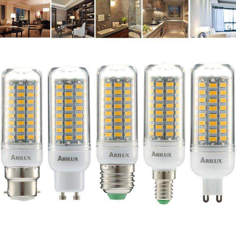 AC220-240V G9 5W 2835 No Flicker 52LED Ceramics Corn Light Bulb for Chandelier Replace Halogen Lamp - 1