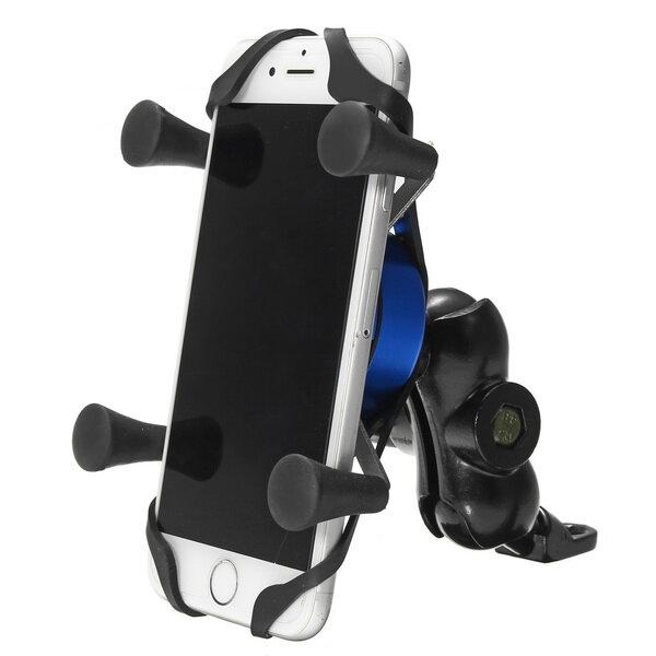 USB Charger Mobile Phone Holder GPS Navigation Bracket For BMW R1200GS ADV S1000R S1000XR R1200R F700 800GS/Honda CRF1000 Motorcycle - 2
