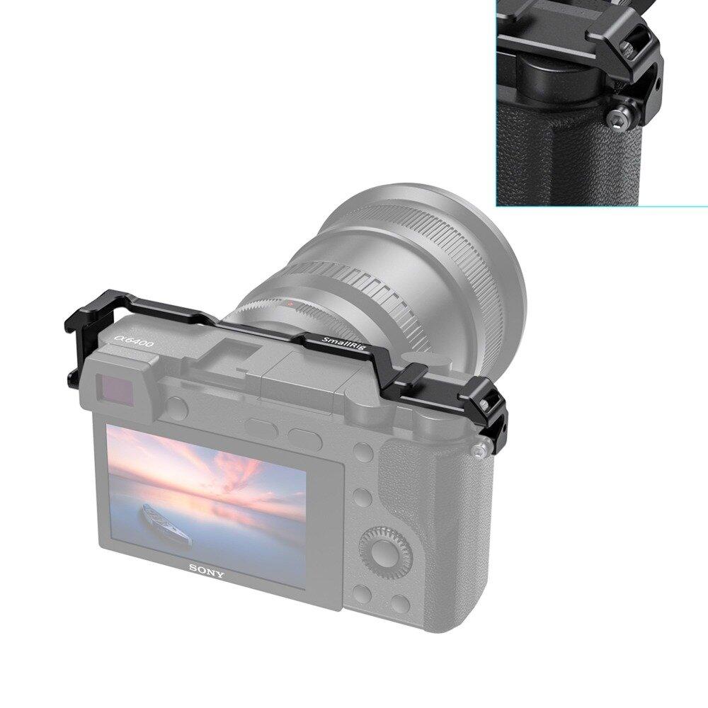 SmallRig2334ソニーA6100 / A6300 / A6400 / A6500用コールドシューリロケーションマウント、マイクDIYオプション用2コールドシューマウント付き