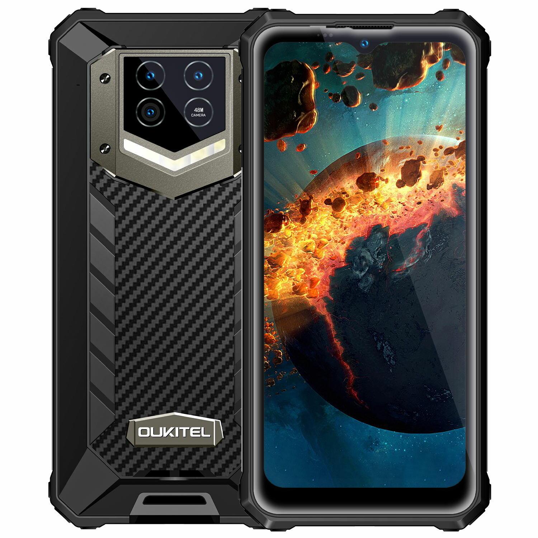 OUKITEL WP15 5G Global Bands 15600mAh Battery Dimensity 700 8GB 128GB 6.52 inch 48MP Triple Camera NFC IP68&IP69K Waterproof Rugged Smartphone