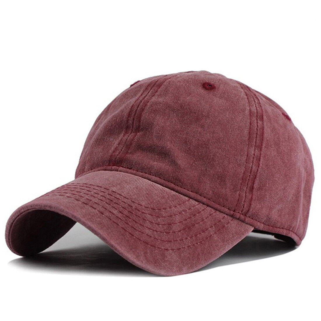 162f7db7 Mens Summer Adjustable Washed Denim Baseball Caps Outdoor Trucker Cap Dad  Hats COD