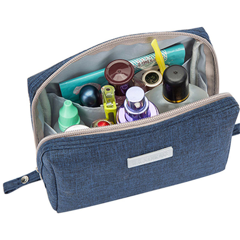 Cartoon Musician in Panama Hat Small Travel Toiletry Bag Super Light Toiletry Organizer for Overnight Trip Bag Accessoires