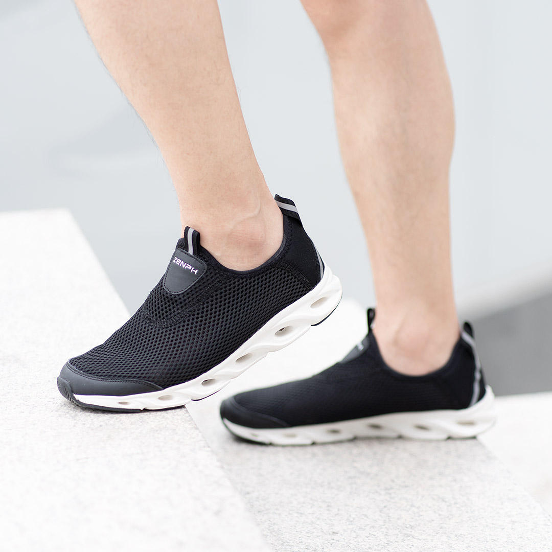 ZENPH Summer Men Sneakers Quick Drying Breathable Lightweight Sports Running Shoes Non slip Wear Resistant Shoes From Xiaomi Youpin - 5