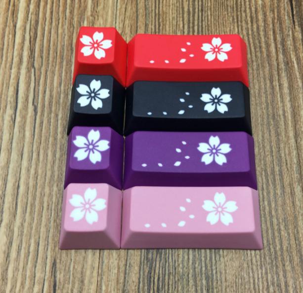 PBT Cherry Blossom Personality Key ESC+ Enter Keycap