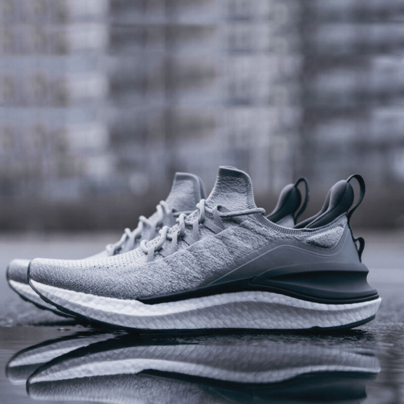 [FROM XIAOMI YOUPIN] YEARCON Men Sneakers Ultralight Non-slip Breathable PU Insoles Sports Running Shoes - 6