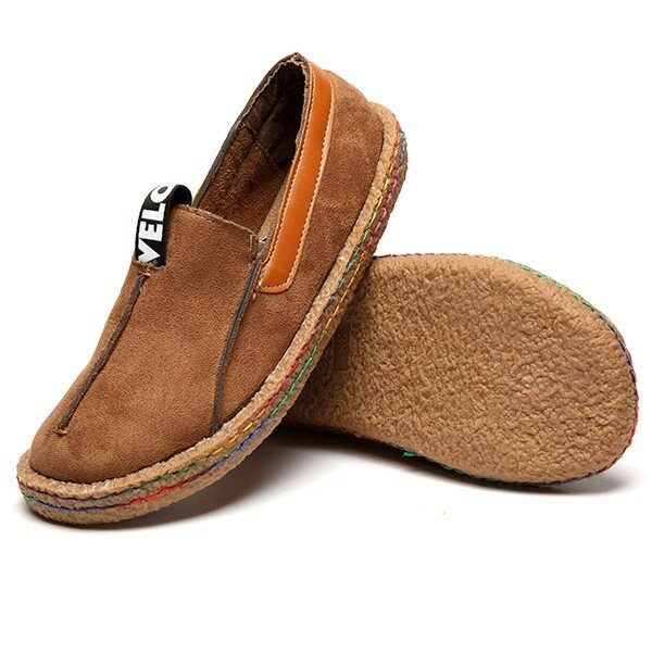 Comfortable Hollow Out Splicing Flat Loafers - 4