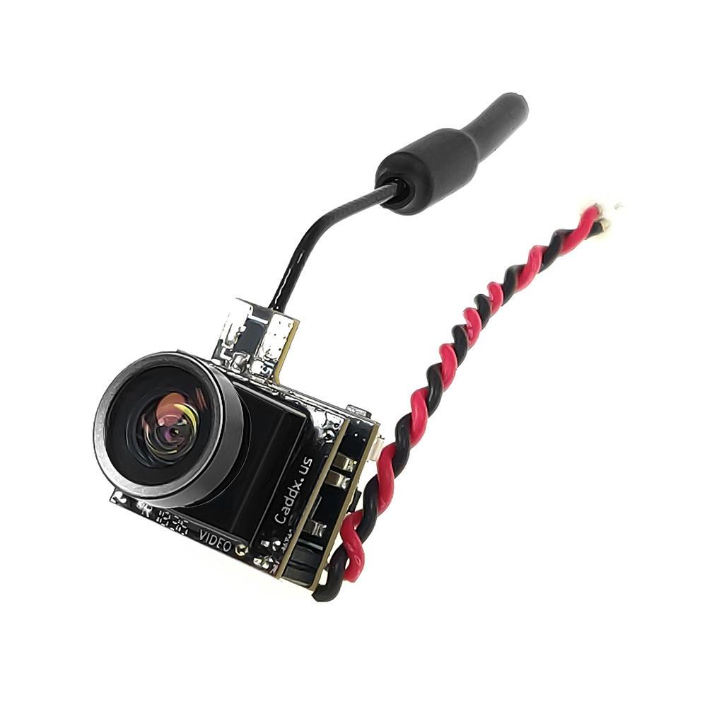 कैडक्स बीटल 9878 9 25 5.8 गीगा 48CH 25mW सीएमओएस 800TVL 170 डिग्री आरसीवी कैमरा एआईओ एलईडी लाइट आरसी ड्रोन के लिए