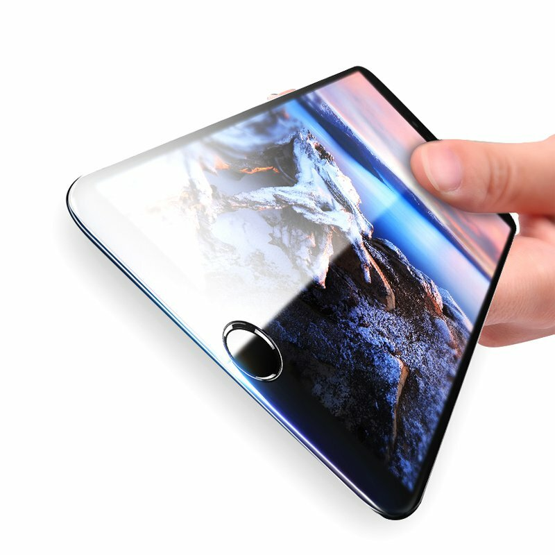 Bakeey 3D Soft Edge Carbon Fiber Tempered Glass Beskyttelsesfilm For iPhone 7