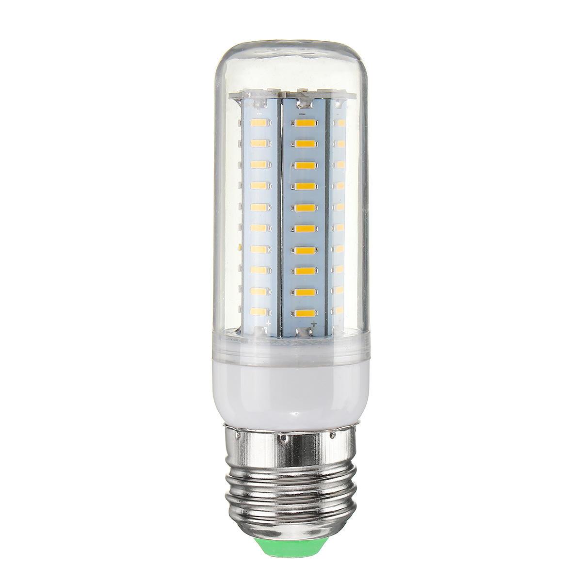 5W E12 E14 E27 E26 B22 3 Modes LED Flame Fire Light Effect Simulated Corn Bulb AC85-265V - 12