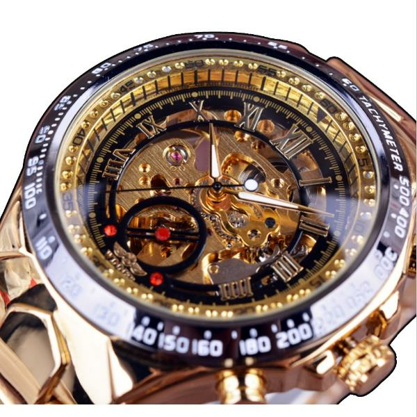 TEVISE 8383A Week Date Display Automatic Mechanical Watch Business Style Men Wrist Watch - 1