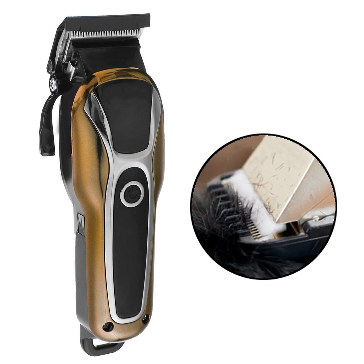 Surker Professional Cordless Hair Clipper Barber Hair Cutting Machine LED LCD Display Electric Hair Trimmer for Men Adult Child - 1