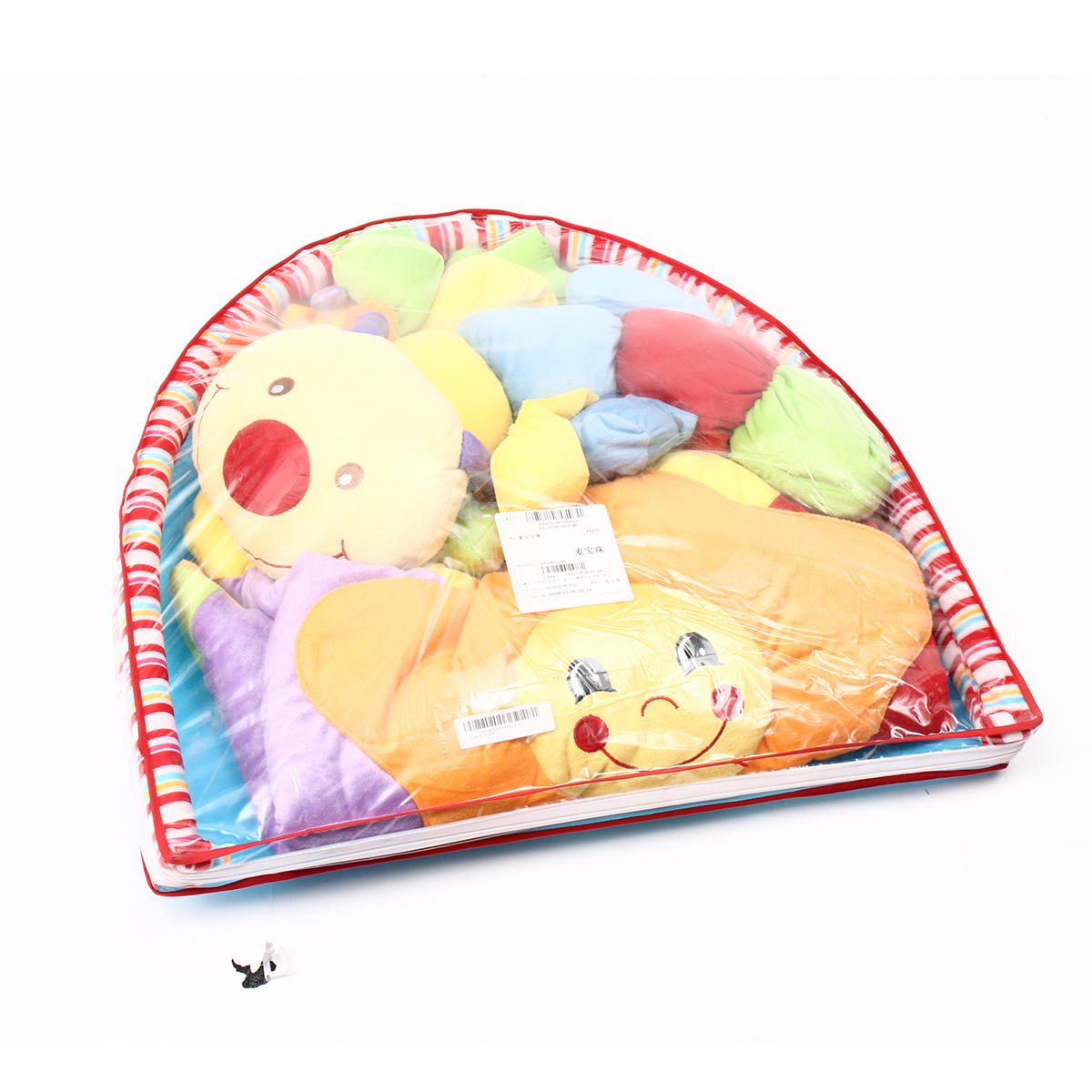 Baby Musical Play Mat Gratis Tummy Time Caterpillar Soft Toy Premium Baby Play Mat - 2
