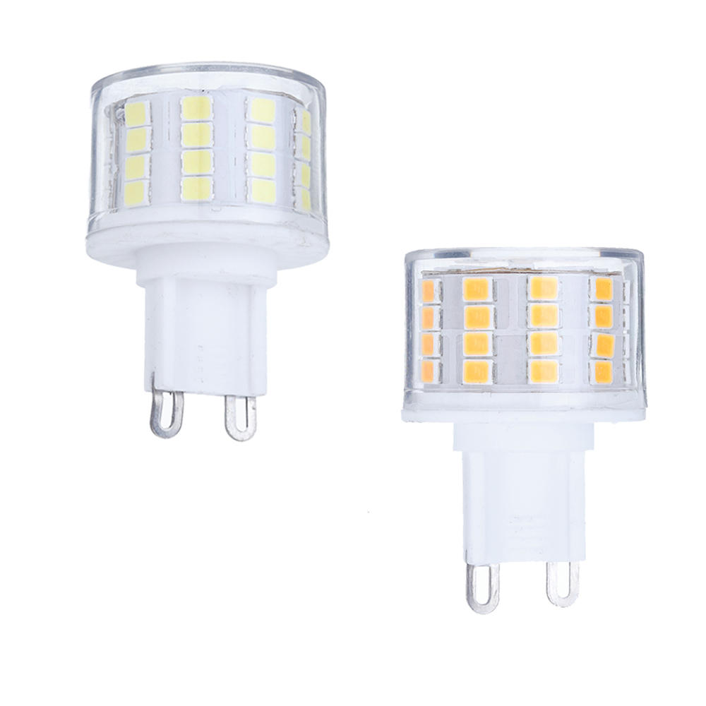 Dimmable E27 E14 E12 G9 GU10 B22 6W SMD4014 LED Corn Bulb Chandelier Light AC220V - 1