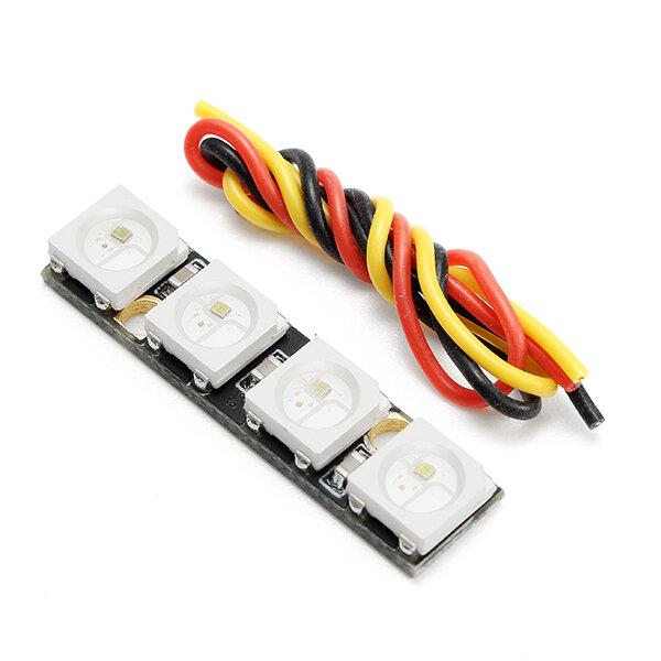0 7g Super Mini WS2812B RGB5050 4 Bit Colorful LED Strip for Naze32 F3 F4  Flight Controller RC Drone