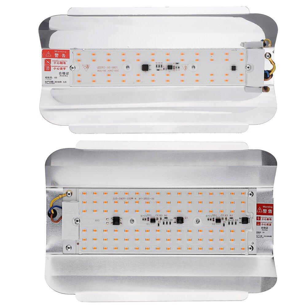 65W LED Grow Light Panel Lamp Full Spectrum Hydroponic Plant Growing Lights - 3