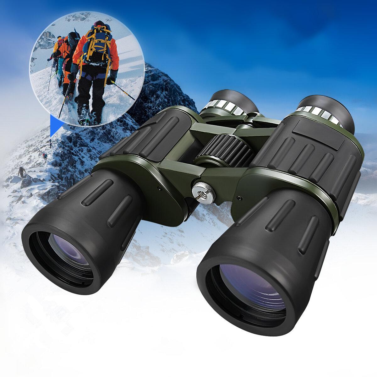 60x50 Military Army Zoom Powerful Telescope HD Hunting Camping Night Vision Binoculars