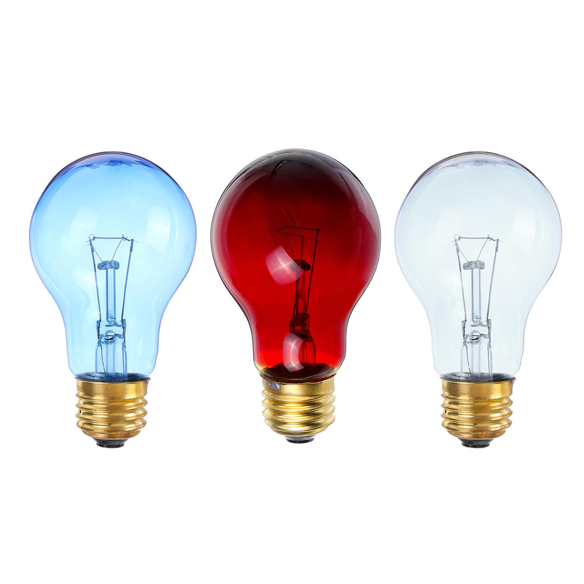 Ac110v 50w Grey Red Blue Heat Lamp Heating Infrared Pet Light Bulb For Reptile Tortoise Sale