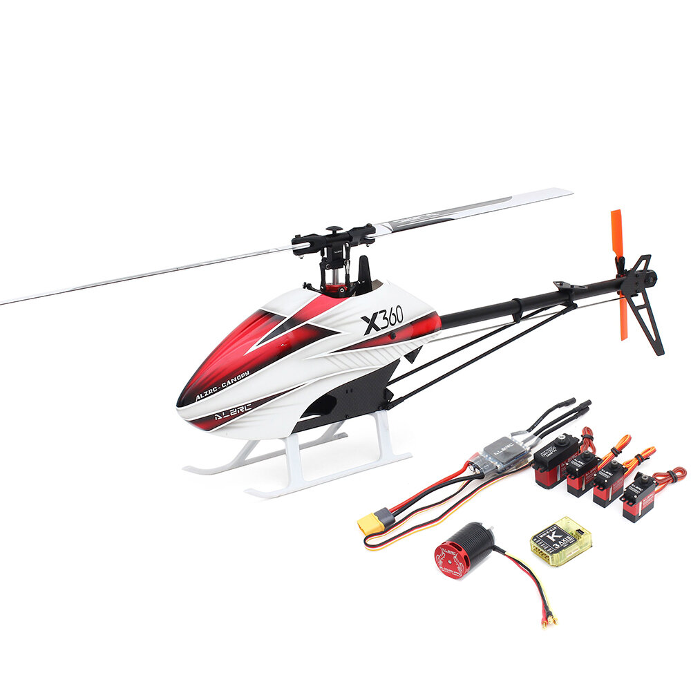 XK K110 Blast 6CH Brushless 3D6G System RC Helicopter BNF - 1