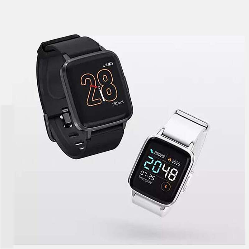 Haylou 1.3in LCD Color Screen IP68 Waterproof Smart Watch 24h Heart Rate Monitor 9 Sports Modes Pedometer Fitness Bracelet From Xiaomi Youpin