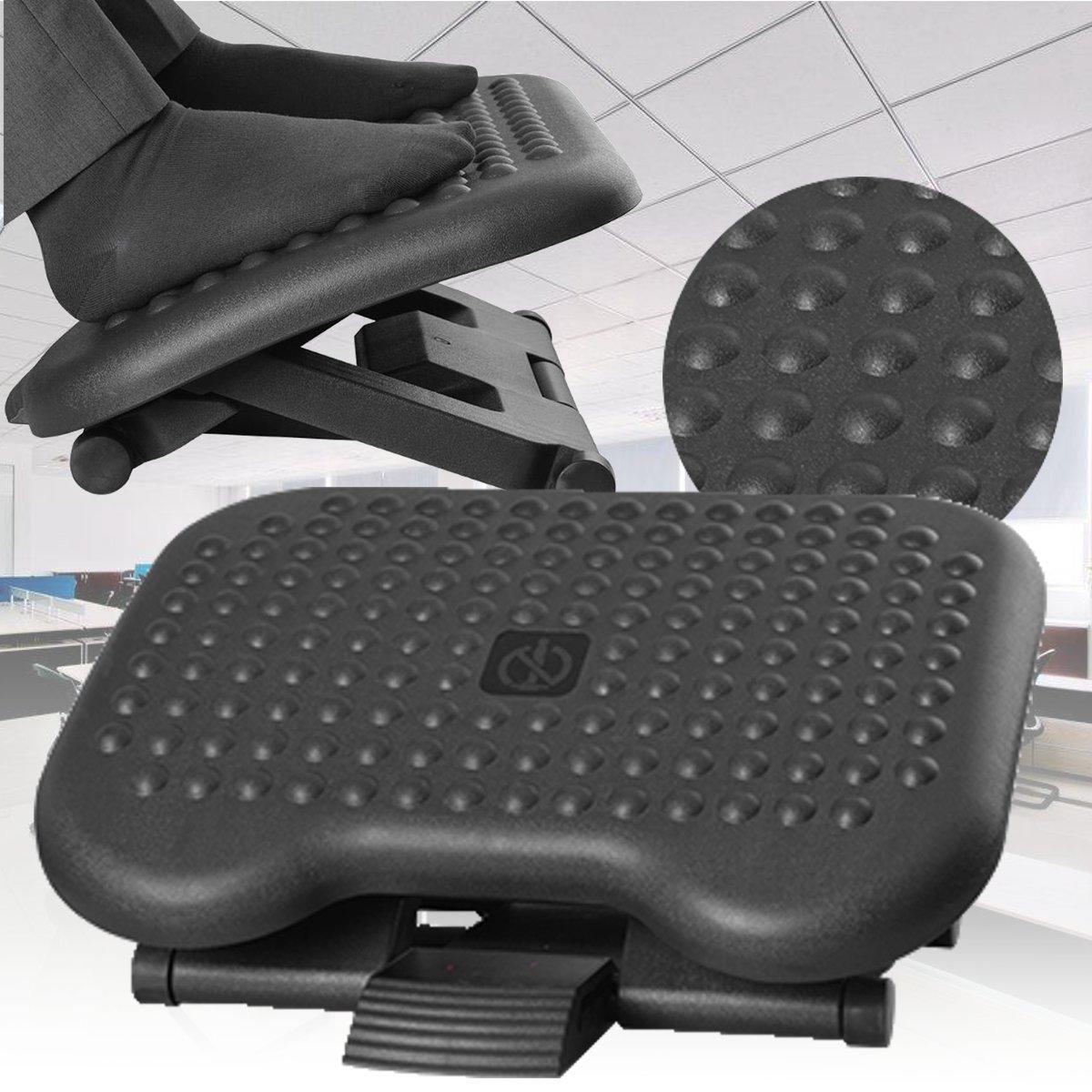 Adjustable Tilting Footrest Under Desk Ergonomic Office Foot Rest Pad Footstool Foot Pegs фото